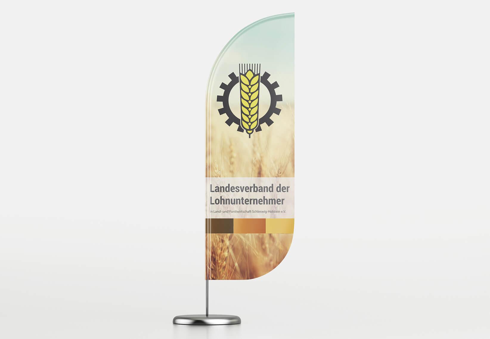 Lohnunternehmerverband Fahne