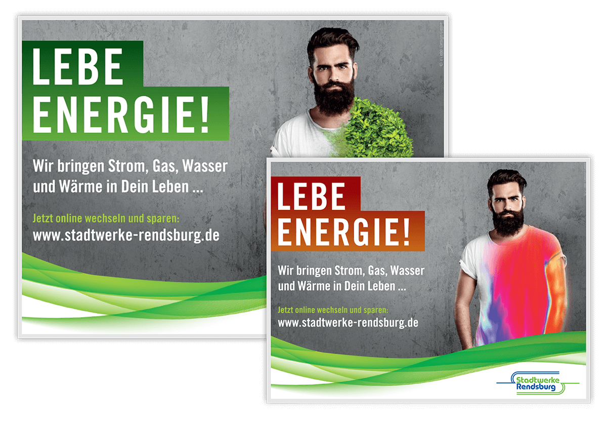 Stadtwerke Rendsburg Plakate