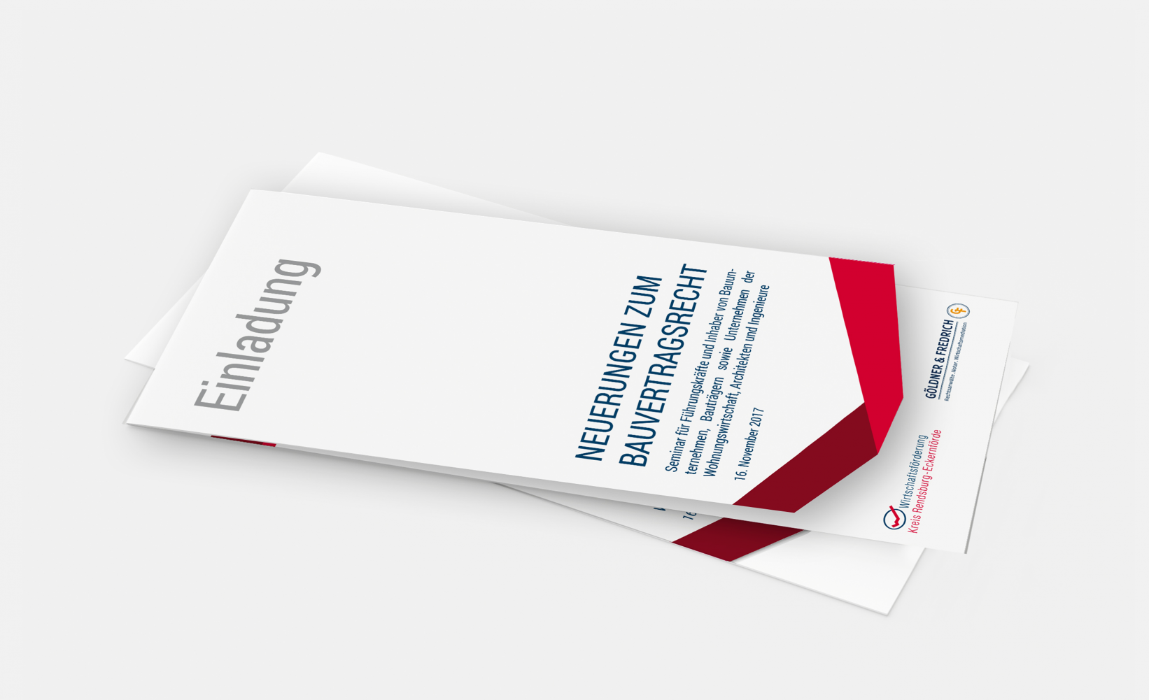 Wirtschaftsförderungsgesellschaft Einladung