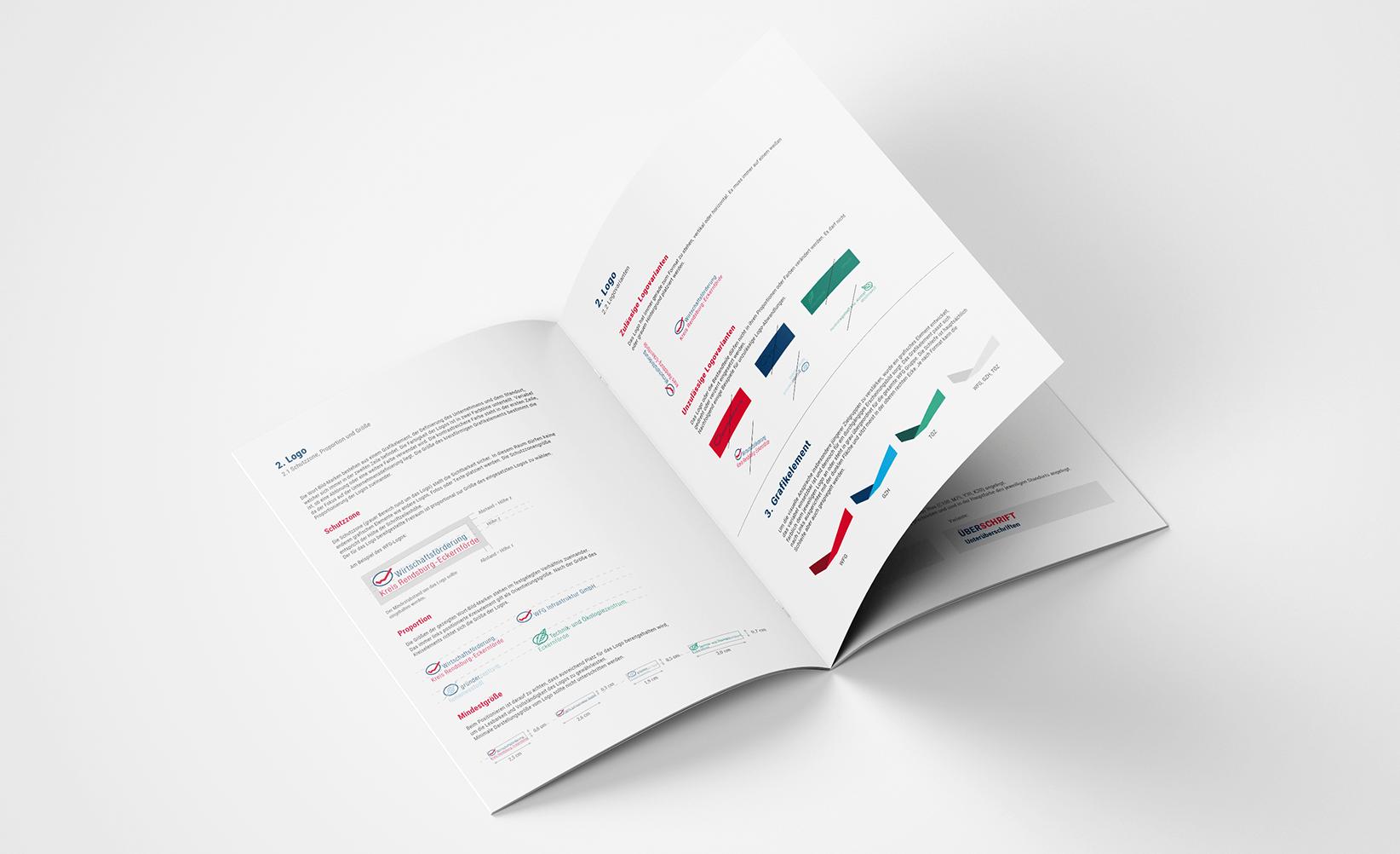 Wirtschaftsförderungsgesellschaft Corporate Design Manual