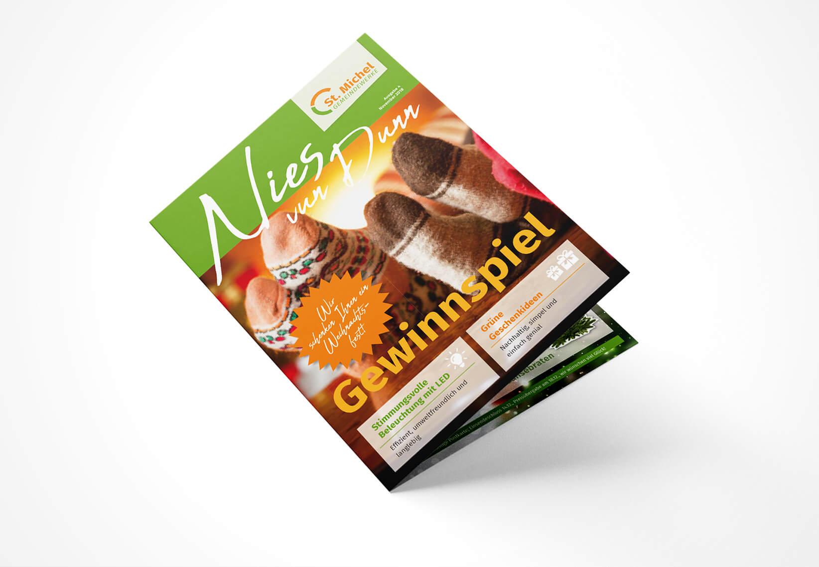 Gestaltung Kundenmagazin