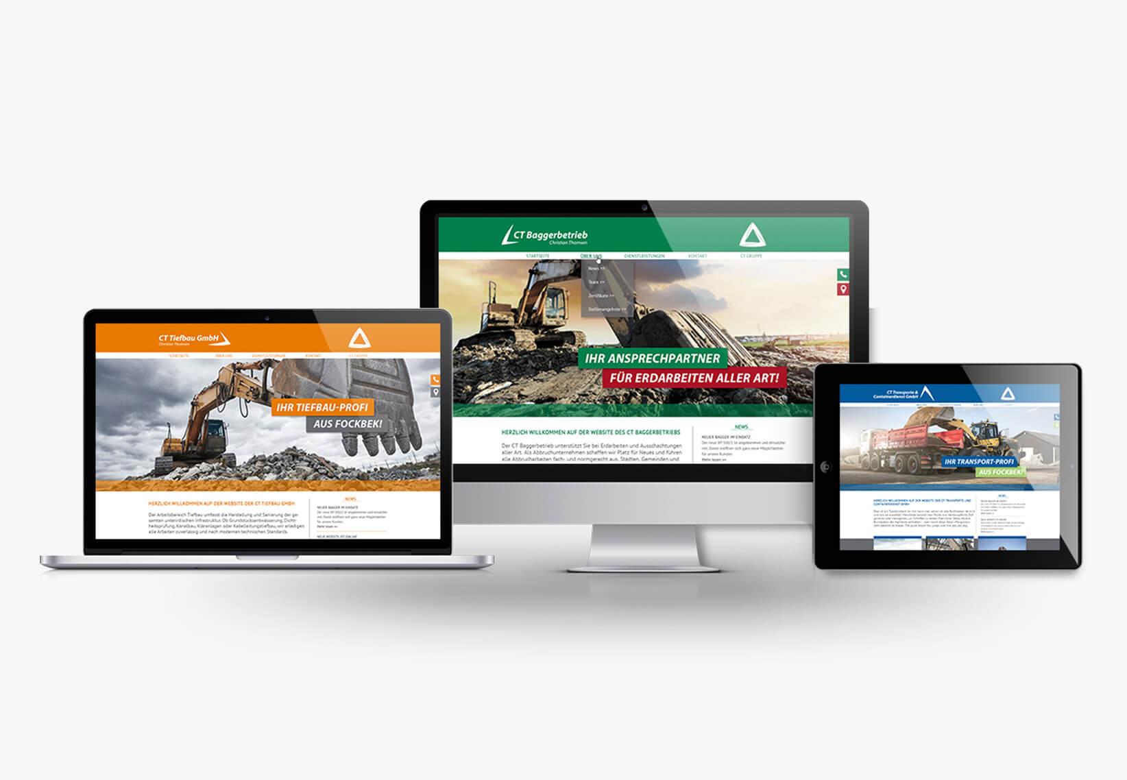 Responsive Website Entwicklung und Erstellung