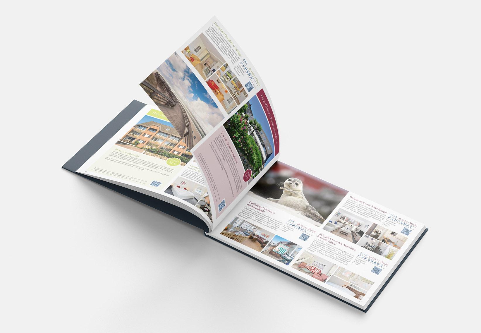 Ferien-Katalog Gestaltung
