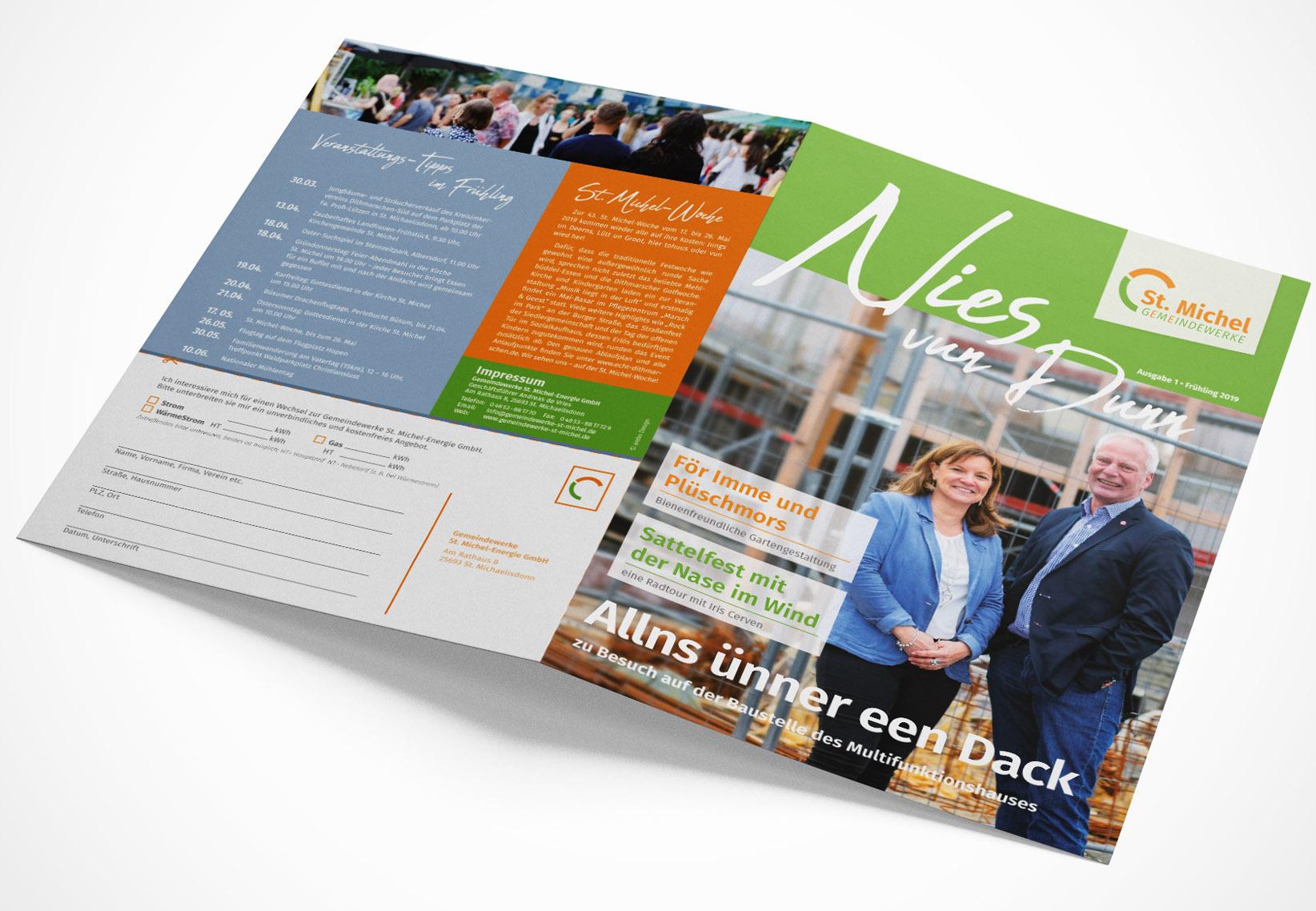 Kundenmagazin A4